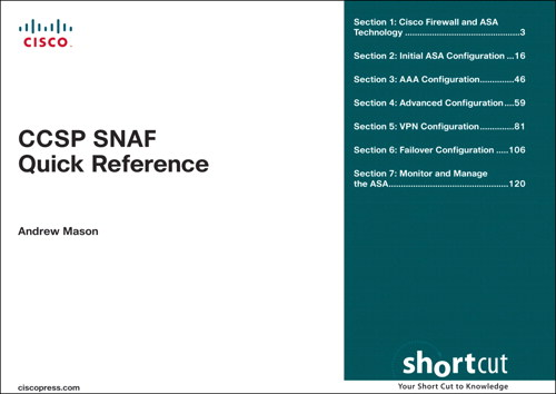CCSP SNAF Quick Reference