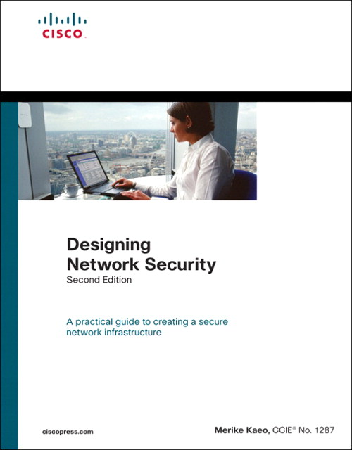 Designing Network Security (paperback), 2nd Edition