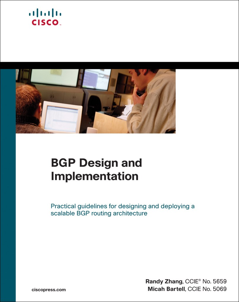 BGP Design and Implementation (paperback)