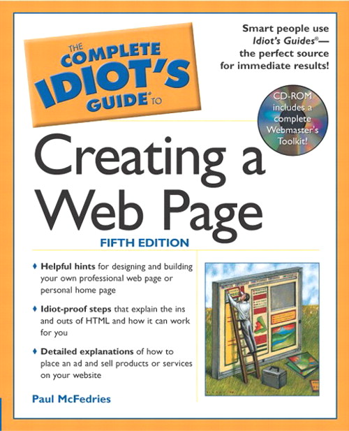Complete Idiot's Guide to Creating a Web Page, 5th Edition