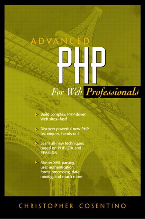 Advanced PHP for Web Professionals