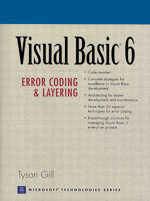 Visual Basic 6: Error Coding and Layering