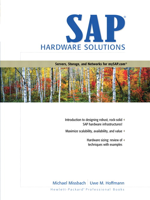 SAP Hardware Solutions: Servers, Storage, and Networks for mySAP.com
