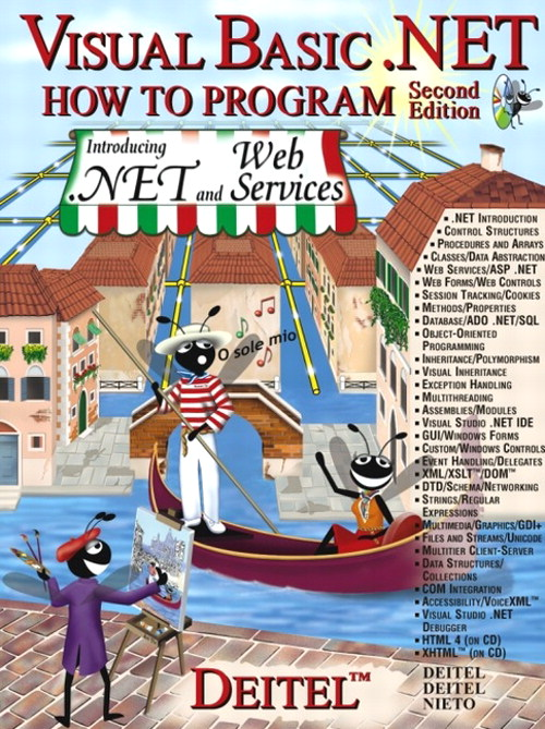 Visual Basic.NET How to Program, 2nd Edition