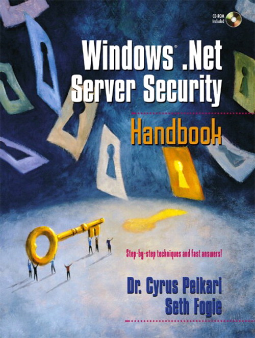 Windows .NET Server Security Handbook