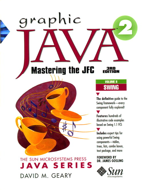 Graphic Java 2,  Volume 2, Swing, 3rd Edition