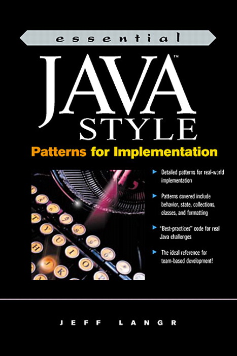 Essential Java Style: Patterns for Implementation