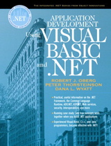 Application Development Using Visual Basic and .NET