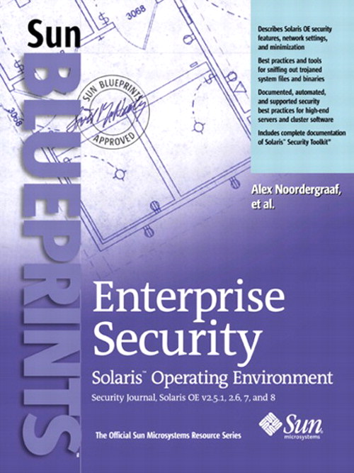 Enterprise Security: Solaris Operating Environment, Security Journal, Solaris OEv2.51, 2.6, 7, and 8