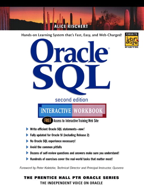 Oracle SQL Interactive Workbook, 2nd Edition