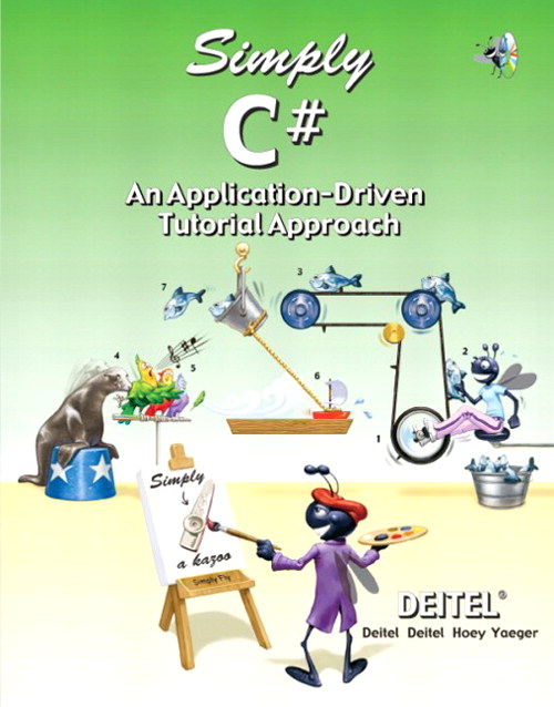 Simply C#: An Application-Driven TM Tutorial Approach