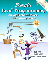 Simply Java Programming: An Application-Driven Tutorial Approach
