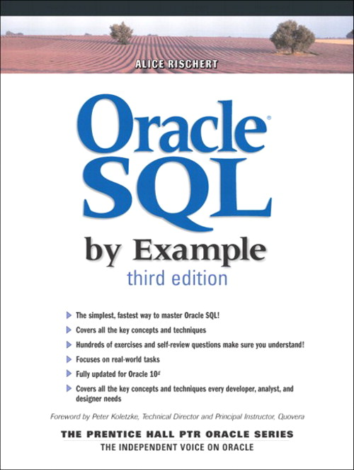 Oracle SQL by Example, 3rd Edition