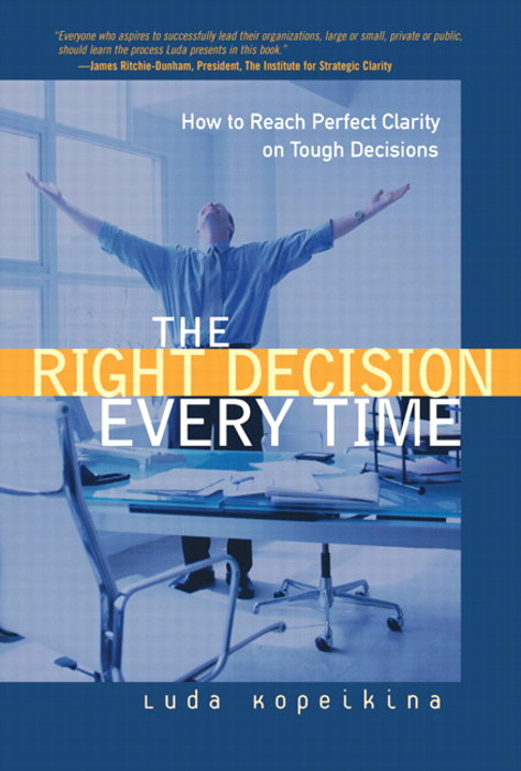 Right Decision Every Time, The: How to Reach Perfect Clarity on Tough Decisions
