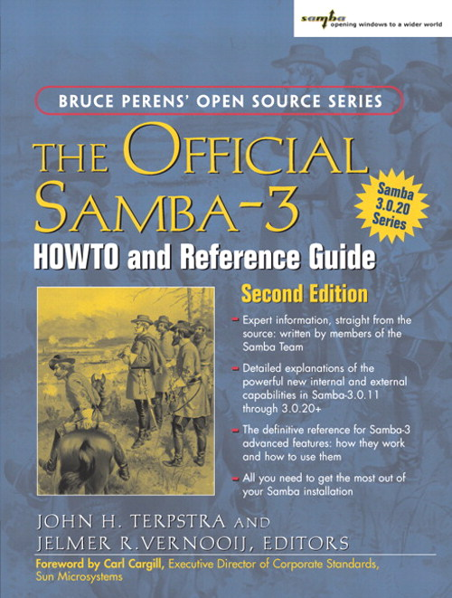 Official Samba-3 HOWTO and Reference Guide, The, 2nd Edition