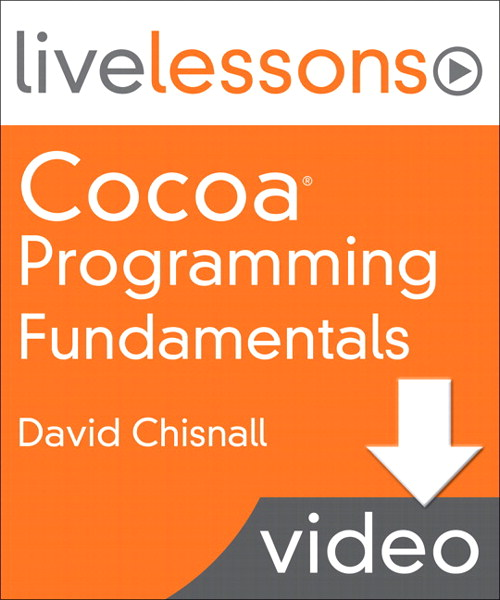 Lesson 1: Introducing the Cocoa Developer Tools, Downloadable Version