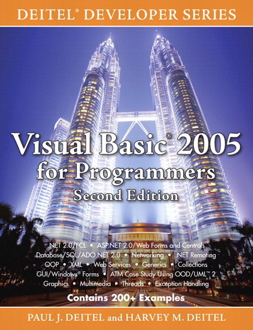 Visual Basic 2005 for Programmers, 2nd Edition