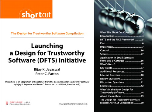 Launching a Design for Trustworthy Software (DFTS) Initiative (Digital Short Cut)