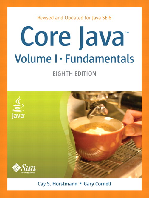 Core Java, Volume I--Fundamentals, 8th Edition