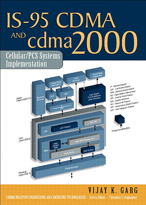 IS-95 CDMA and cdma2000: Cellular/PCS Systems Implementation