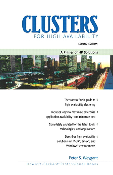 Clusters for High Availability: A Primer of HP Solutions, Portable Documents, 2nd Edition