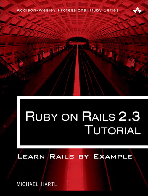 Ruby on Rails 2.3 Tutorial: Learn Rails by Example, Portable Documents
