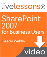Lesson 1: Introduction to Sharepoint 2007 (Downloadable Version)
