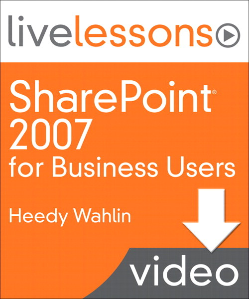 Lesson 7: Personalizing SharePoint (Downloadable Version)