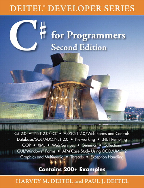 C# for Programmers,, 2nd Edition