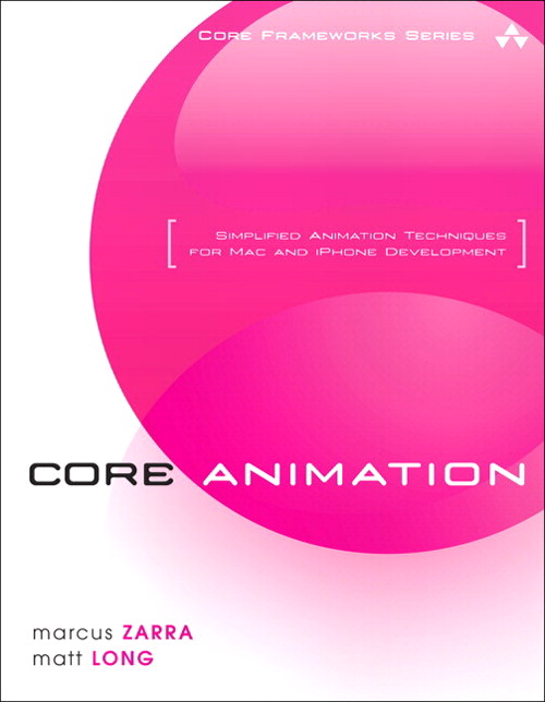 Core Animation: Simplified Animation Techniques for Mac and iPhone Development