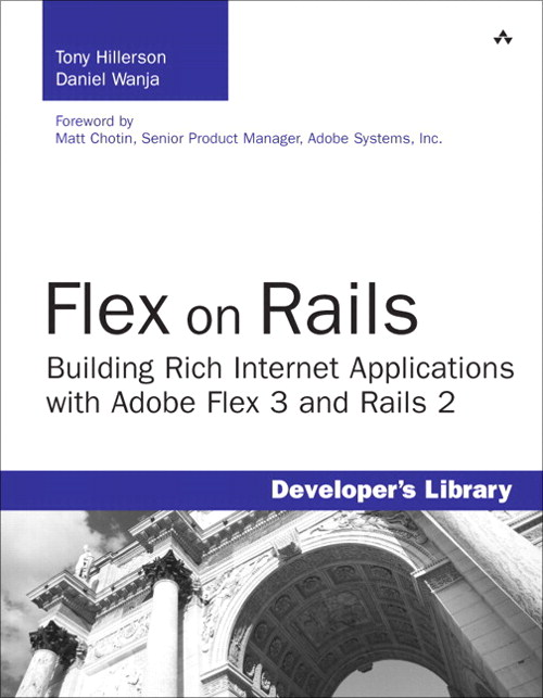 Flex on Rails: Building Rich Internet Applications with Adobe Flex 3 and Rails 2 9780132651554