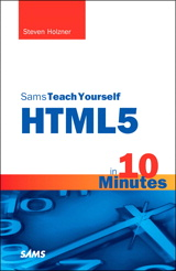Sams Teach Yourself HTML5 in 10 Minutes, 5th Edition