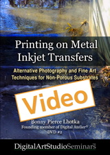 Printing on Metal Inkjet Transfers Online Video