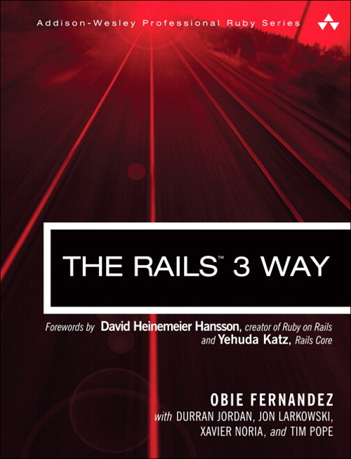 Rails 3 Way, The, 2nd Edition