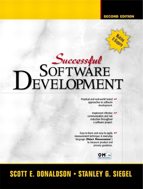 Successful Software Development, 2nd Edition