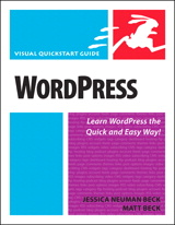 WordPress: Visual QuickStart Guide