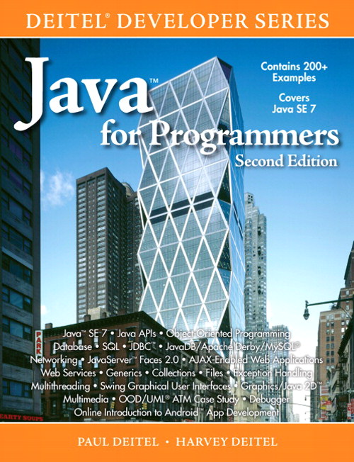 "Java"" for Programmers, 2nd Edition"