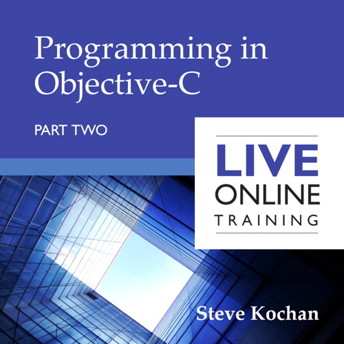 Programming in Objective-C: Part Two