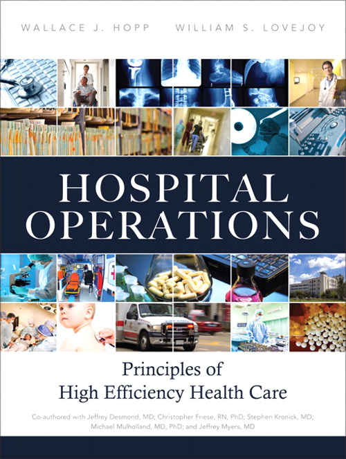 Hospital Operations: Principles of High Efficiency Health Care