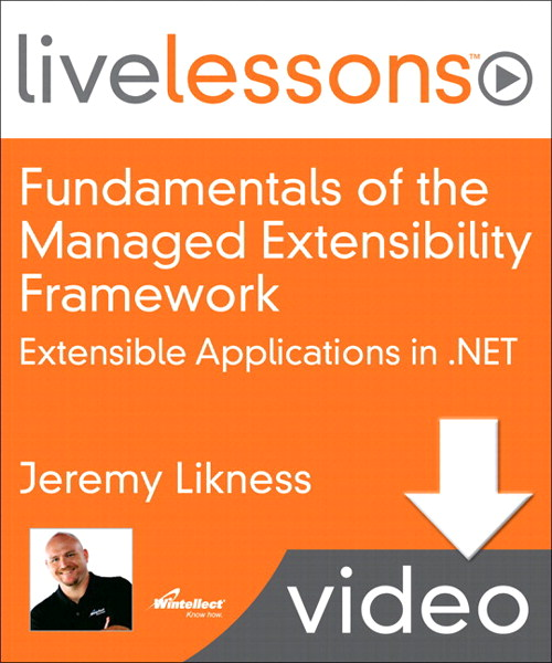 Lesson 5: Extensibility with MEF