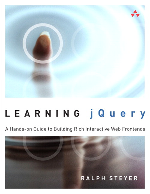 Learning jQuery: A Hands-on Guide to Building Rich Interactive Web Front Ends