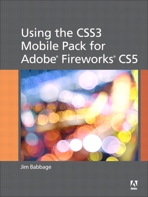 Using the CSS3 Mobile Pack for Adobe Fireworks CS5