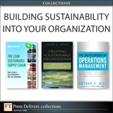 Building Sustainability Into Your Organization (Collection)