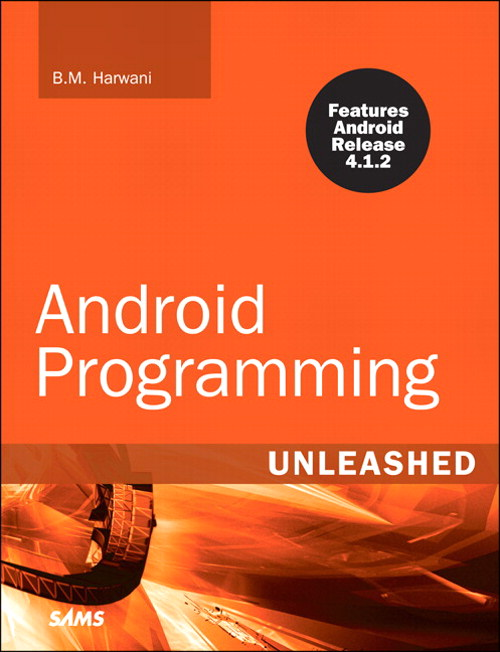 Android Programming Unleashed, Rough Cuts