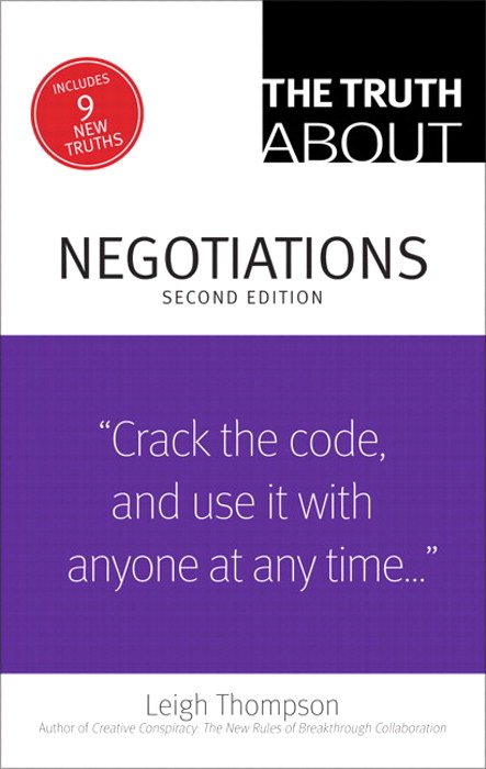 Truth About Negotiations, The, 2nd Edition