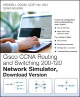 CCNA Routing and Switching 200-120 Network Simulator, Download Version