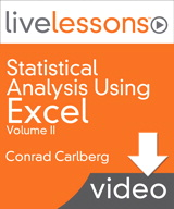 Part III: Excel Functions for Linear Regression, Downloadable Version