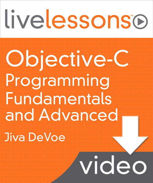 Lesson 1 (Fundamentals): Basic Objective-C Syntax