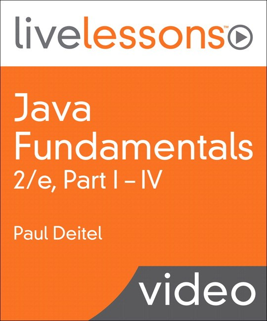 Java Fundamentals LiveLessons Parts I, II, III, and IV (Video Training): Lesson 14: GUI Components: Part 1, Downloadable Version, 2nd Edition