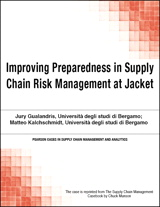 Improving Preparedness in Supply Chain Risk Management at Jacket